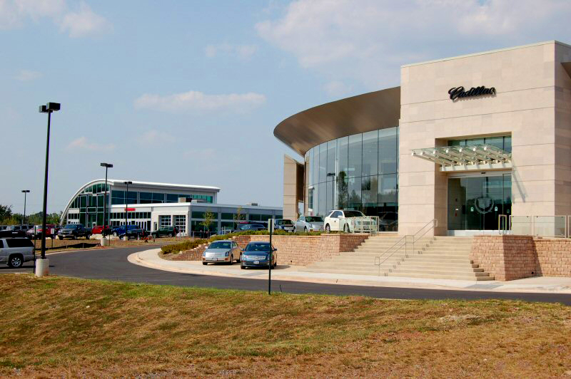My new home. The Largest Cadillac Dealership in the World ...